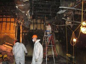 Fire Damage Restoration Technician