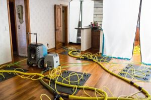 Drying and Dehumidifying A Home