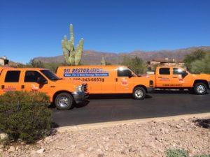 911 Restoration of East Valley Disaster Restoration Vehicles1