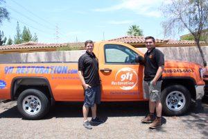 911 Restoration of Mesa Truck