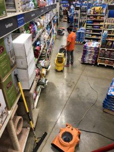comercial-water-damage-restoration-job